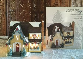 Department 56 Snow Village Series Lynnhaven House #4016902 Yellow house  - $197.99
