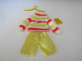 1969 Mattel Barbie # 1862 Country Caper Outfit W/SHOES Vf Condition !! - $27.67