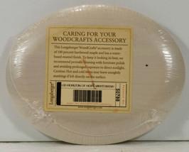 Longaberger HORIZON of HOPE Whitewashed Wood Oval Lid NEW Sealed 50788 - $13.99