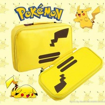 Pokemon Pikachu Carrying Case Portable Waterproof Travel For Nintendo Sw... - $14.24+