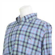 Vineyard Vines Slim Fit Tucker Multi-Color Check Plaid Casual Shirt Mens... - $39.43