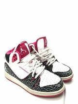 Womens Nike Air Jordan High Top White Black Basketball Youth Shoes Size 4Y - $15.84