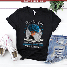 October girl knows more than she says - $21.95+