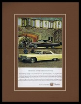 1963 Cadillac Sedan de Ville Framed 11x14 ORIGINAL Vintage Advertisement - $41.71