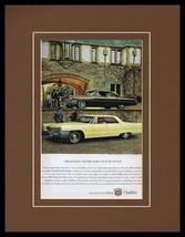 1963 Cadillac Sedan de Ville Framed 11x14 ORIGINAL Vintage Advertisement - $44.54