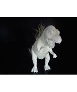 Glow In The Dark White T.Rex Dinosaur Planter - Succulent, Cactus, Air P... - $20.00