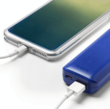 heyday Cool Blue Iridescent Apple iPhone 6, 6S, 7 or 8 Case with Power Bank NEW image 2