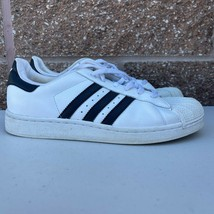 Adidas Superstar Size 6.5 White Black G04532 Junior Youth Kids Sneakers - $18.69