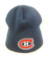 Montreal Canadiens NHL Hockey Winter Hat Dark Blue Toque Beanie Stocking... - $15.07