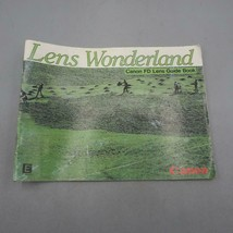Vintage Canon FD Lens Wonderland Camera Guidebook - $30.54