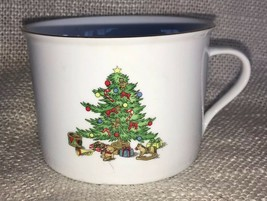 CHRISTMAS CUP MUG TIENSHAN HOLIDAY HOSTESS 8oz Fast Free Shipping - $13.16
