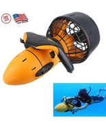 Electric 300W Underwater Sea Scooter Dual Speed Propeller Diving Pool Wa... - $239.99