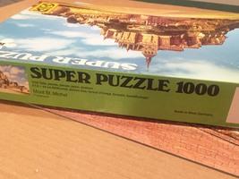 Vintage F.X. Schmid Super Puzzle 1000 - No. 98243 Mont St. Michel image 4