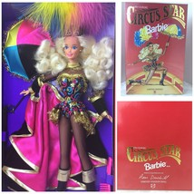 Circus Star Barbie Doll FAO SCHWARZ Limited Edition 1994 Designed By Ann... - $32.18