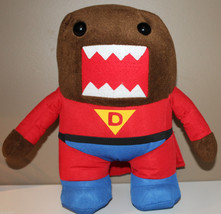 "12.5"" Super Domo Plush Character Red Suit and Cape 2012 - $26.77"