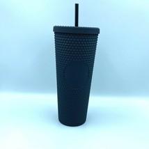 New Starbucks Coffee 2021 Matte Black Studded Tumbler Cup 24 OZ - $56.99