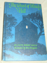 Vtg 1968 GHOST OF WINDY HILL Clyde Robert Bulla Illustrated Don Bolobnes... - $5.00