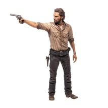 "McFarlane Toys The Walking Dead TV 10"" Rick Grimes Deluxe Figure - $39.70"