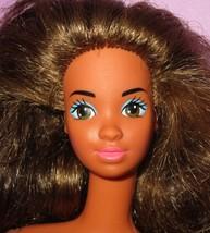 Barbie Vintage Unusual 1980s Head Mold Hispanic Beach Blast Tan Doll OOA... - $18.00