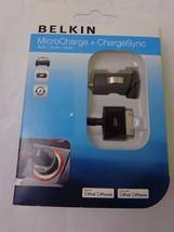 Belkin Auto MicroCharge + ChargeSync Kit for iPod & iPhone--NIP - $29.69