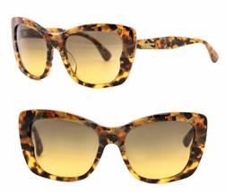 Miu Miu Culte Mu 03O Cat Eye Brown Horn Havana Gradient Sunglasses MU03OSA - $221.86