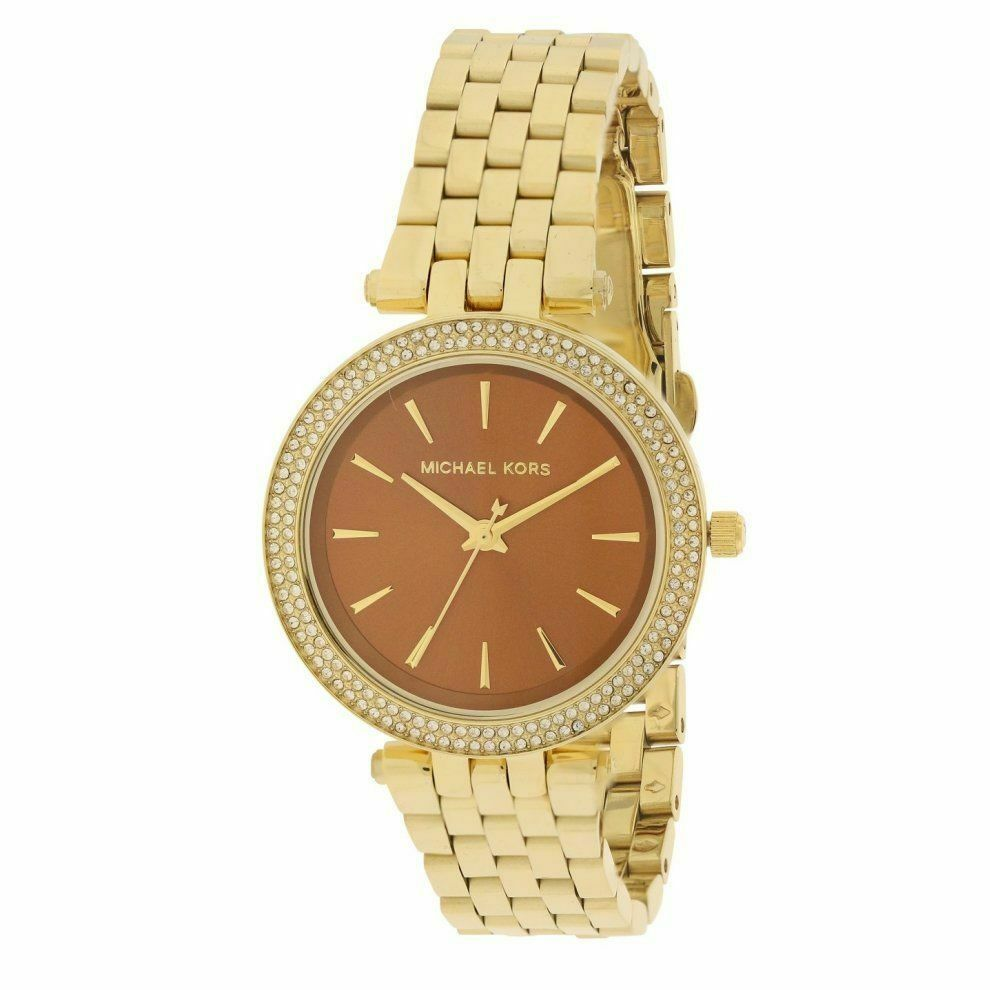 Primary image for Michael Kors Darci MK3408 Golden Glitz Womens Watch