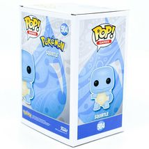 Funko Pop! Games Pokemon Squirtle #504 Vinyl Action Figure image 4