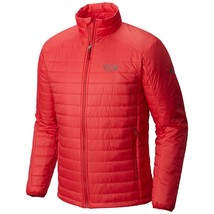 New Mountain Hardwear Men's XL CLASSIC THERMOSTATIC Jacket RED $200 NWT PACKABLE - $130.89