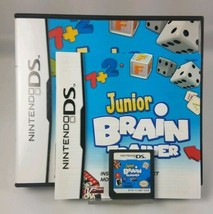 Junior Brain Trainer (Nintendo DS, 2009) Complete w/ Case + Manual FREE Ship - $7.87