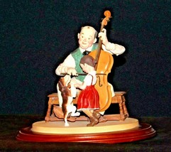 """1992 Days to Remember - Norman Rockwell """"The Fiddler"""" Figurine AA19-1611 Vinta image 2"""