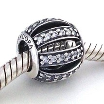 Authentic Pandora Leading Lady Clear CZ Sterling Silver Bead Charm 79111... - $43.69