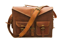 100% Pure Leather Laptop Shoulder Office Cross ... - $59.79