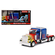 Optimus Prime Truck with Robot on Chassis from Transformers Movie Hollyw... - $16.74