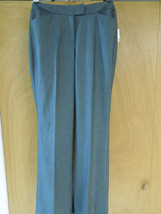 "New CALVIN KLEIN WOMEN""S DRESS SLACKS charcoal grey Size 10 Regular Poly... - $24.74"
