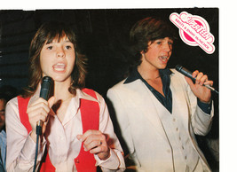 Kristy Mcnichol Jimmy Mcnichol teen magazine pinup clipping on the mics