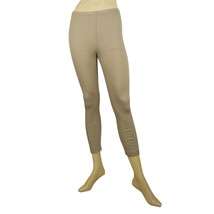 Rundholz Gray Linen Cotton Summer Leggings Cropped trousers pants size XS - $85.24