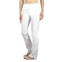 Jofit Women's Jo Slimmer Pull On Style Slimming Golf Pants, White, Large - $26.39