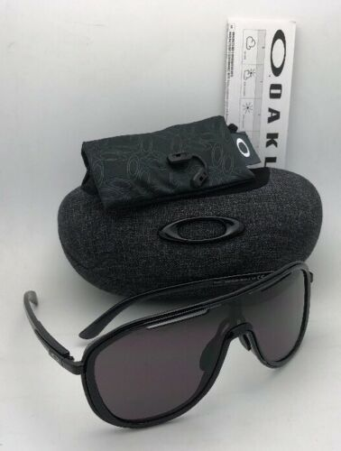 New OAKLEY Sunglasses OUTPACE OO4133-01 Black Ink-Black Frame w/ Warm Grey Lens image 10