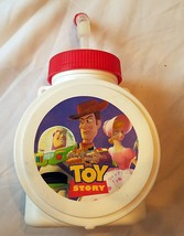 Disney World Toy Story Used Travel Cup Glass Rare Circa 2000 Free Shipping - $9.50