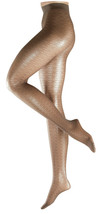 FALKE Nymph Sheer Delicate Patterned Tight, Walnut, US Medium/Large - $21.78