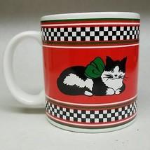 Potpourri Press Christmas Kitten Cat Coffee Mug - $10.90