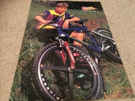 Jonathan Taylor Thomas Hanson teen magazine poster clipping by a bike spandex