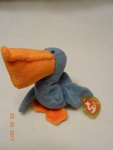 MWMT Retired TY BEANIE BABY Scoop The Pelican ~Tag Protector  - $5.53