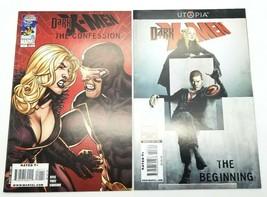 Dark X-men The Confession #1 & The Beginning #3 Marvel Comics Lot of 2 2009 - $5.94