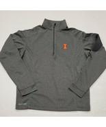 NWOT Illinois Fighting Illini Ping Gray 1/4 Zip Shirt Small New Without ... - $39.59