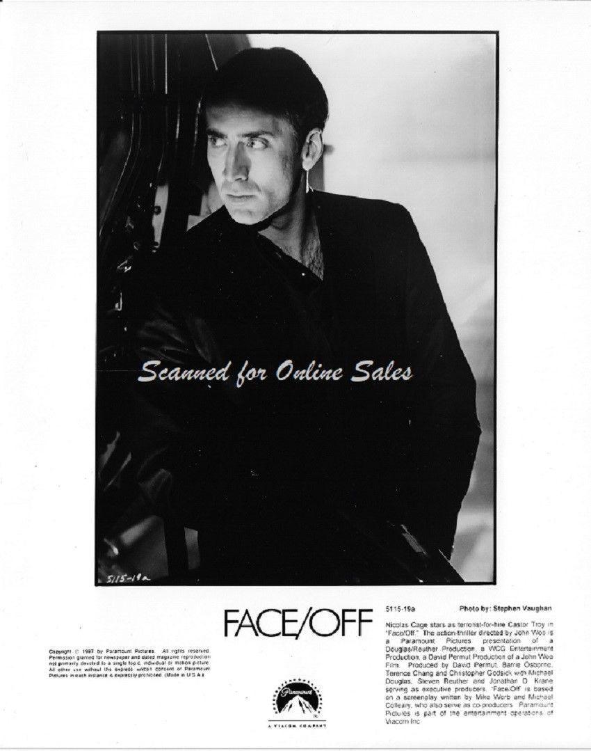 Face/Off Nicholas Cage Castor Troy 8x10 Press Photo 5115-19a - $9.99
