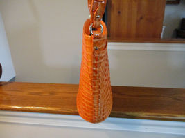 Authentic Brahmin Quinn Tangerine La Scala Shoulder Bag Bucket NWT R98 626 00506 image 3
