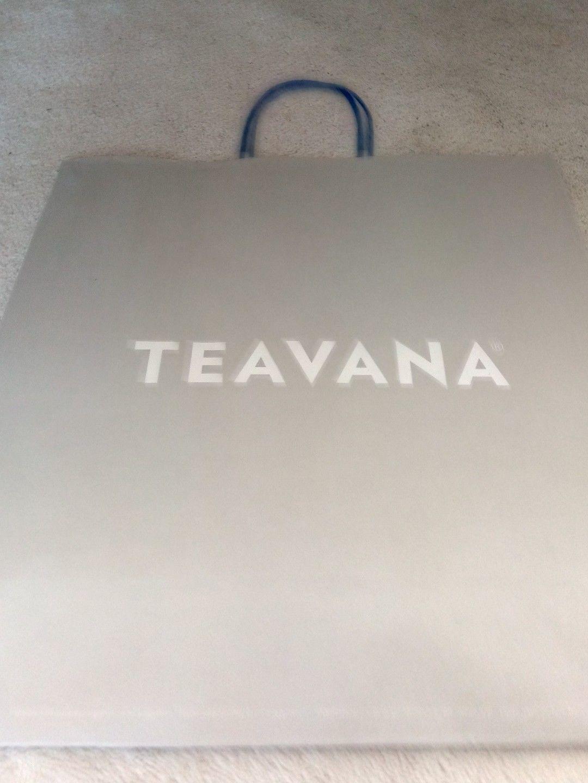 """Teavana Gift Bag; 16"""" by 17.5"""" - $15.84"""