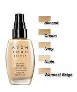 AVON Calming Effects Mattifying Foundation  30 ml - Cream - New - $11.99