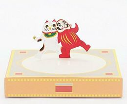 Paper Sumo by COCHAE Yosuke Jikahara and Miki Takeda Design Game Toy NIB image 4